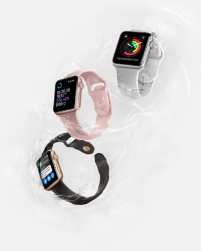 Apple Watch Series 2, por fin oficial: sumergible y con GPS integrado